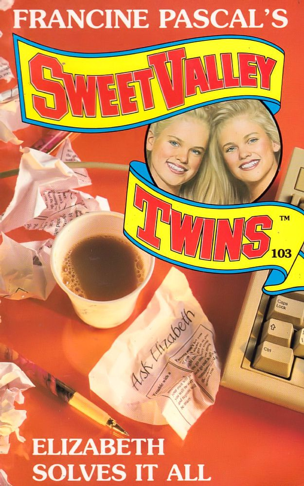 Sweet Valley Twins 103: Elizabeth Solves It All