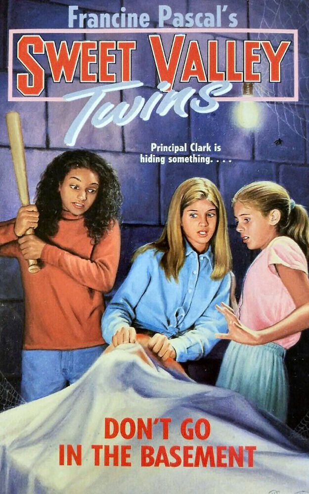 Sweet Valley Twins 109: Don't Go In the Basement