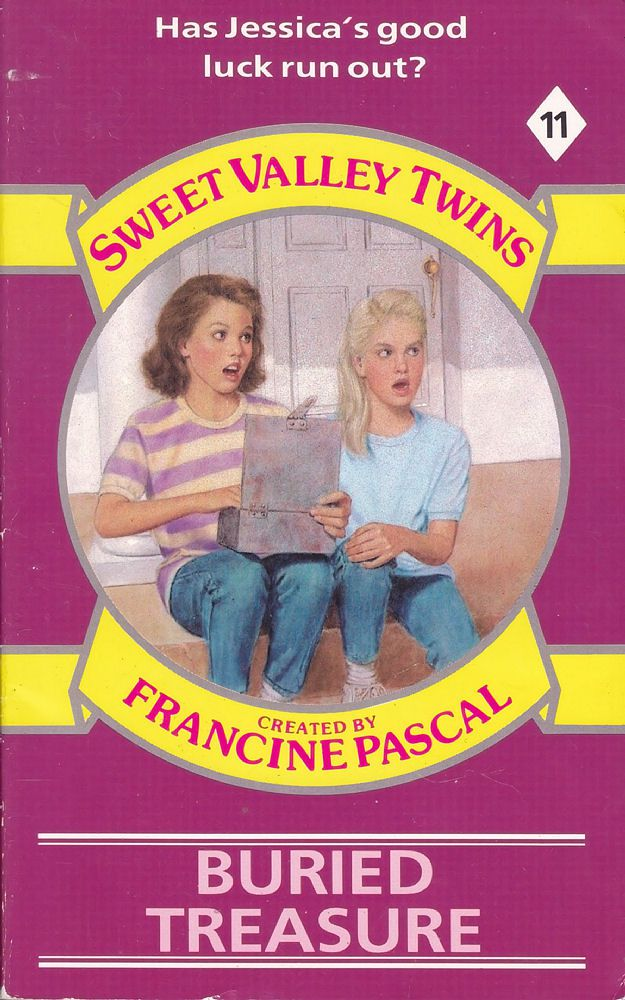Sweet Valley Twins 11: Buried Treasure - Wing on 3 Apr 2017