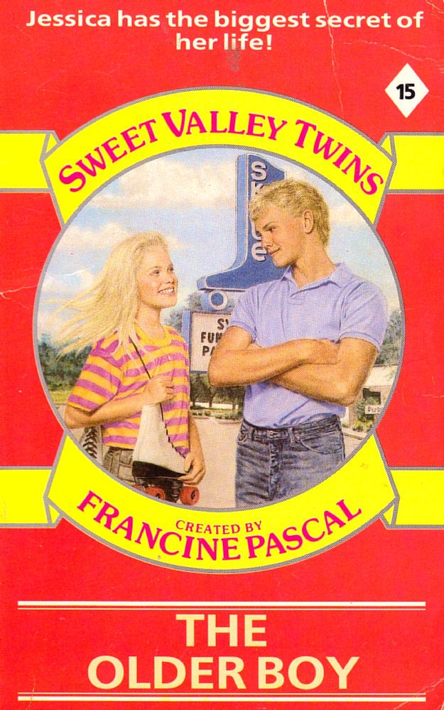 Sweet Valley Twins 15: The Older Boy