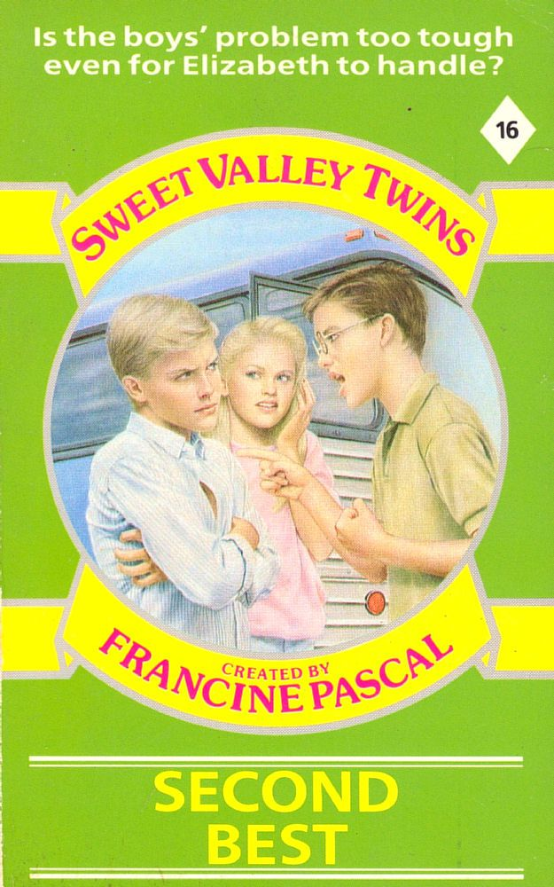 Sweet Valley Twins 16: Second Best - Wing on 22 May 2017