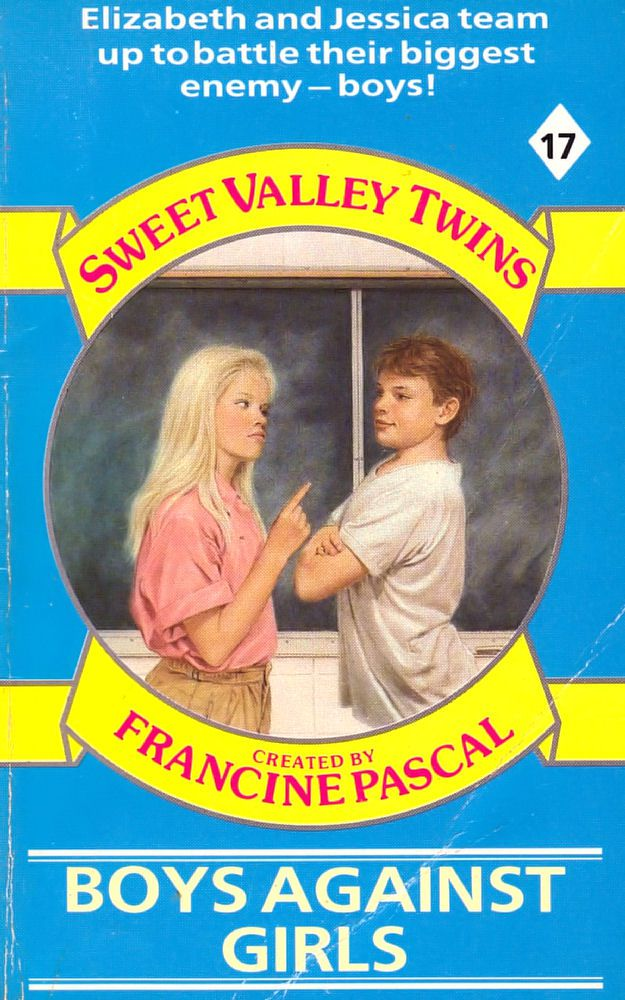 Sweet Valley Twins 17: Boys Against Girls