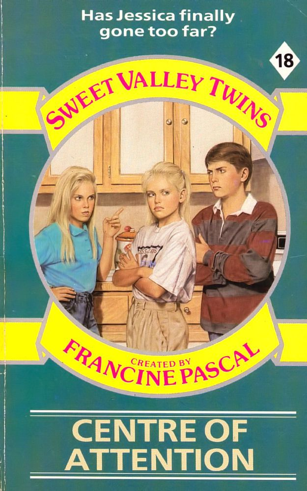 Sweet Valley Twins 18: Center of Attention
