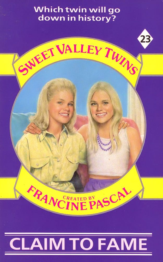 Sweet Valley Twins 23: Claim to Fame - Raven on 31 Jul 2017