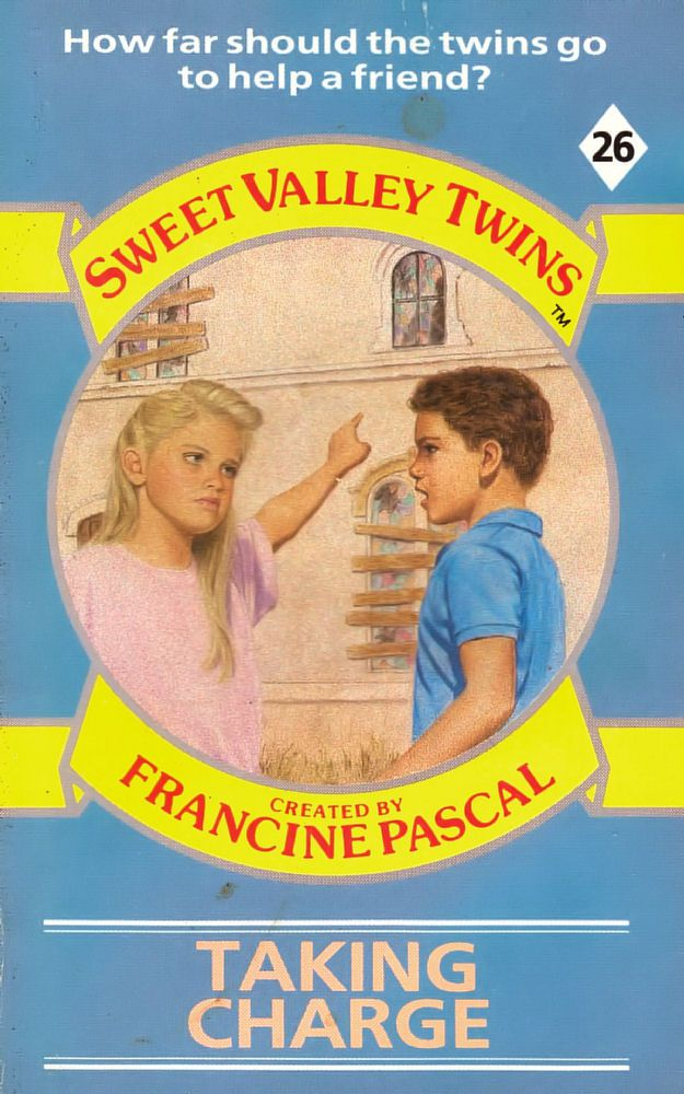Sweet Valley Twins 26: Taking Charge - Dove on 11 Sep 2017