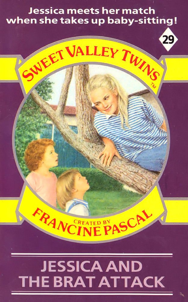 Sweet Valley Twins 29: Jessica and the Brat Attack