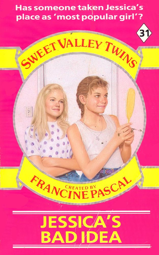 Sweet Valley Twins 31: Jessica's Bad Idea - Dove on 6 Nov 2017