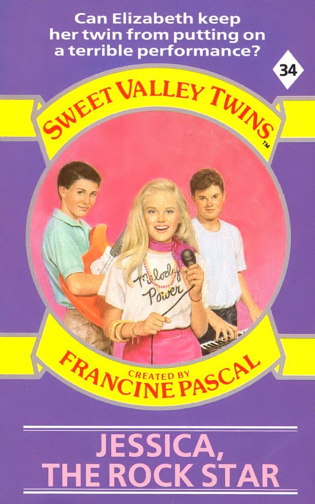 Sweet Valley Twins 34: Jessica, the Rock Star