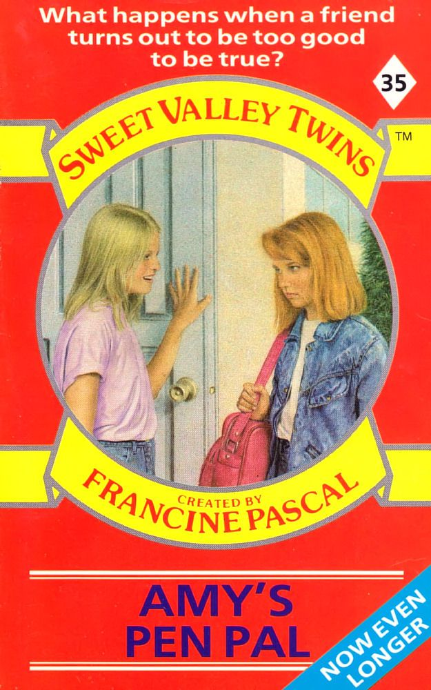 Sweet Valley Twins 35: Amy's Pen Pal - Raven on 11 Dec 2017