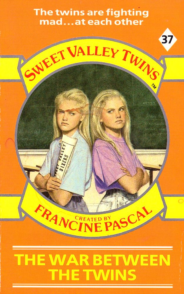 Sweet Valley Twins 37: The War Between the Twins - Dove on 8 Jan 2018