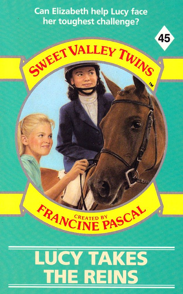Sweet Valley Twins 45: Lucy Takes the Reins - Dove on 9 Apr 2018