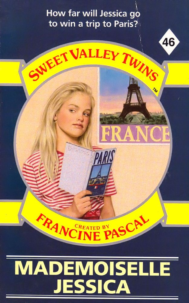 Sweet Valley Twins 46: Mademoiselle Jessica