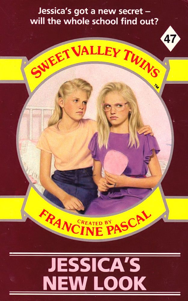 Sweet Valley Twins 47: Jessica's New Look - Dove on 30 Apr 2018