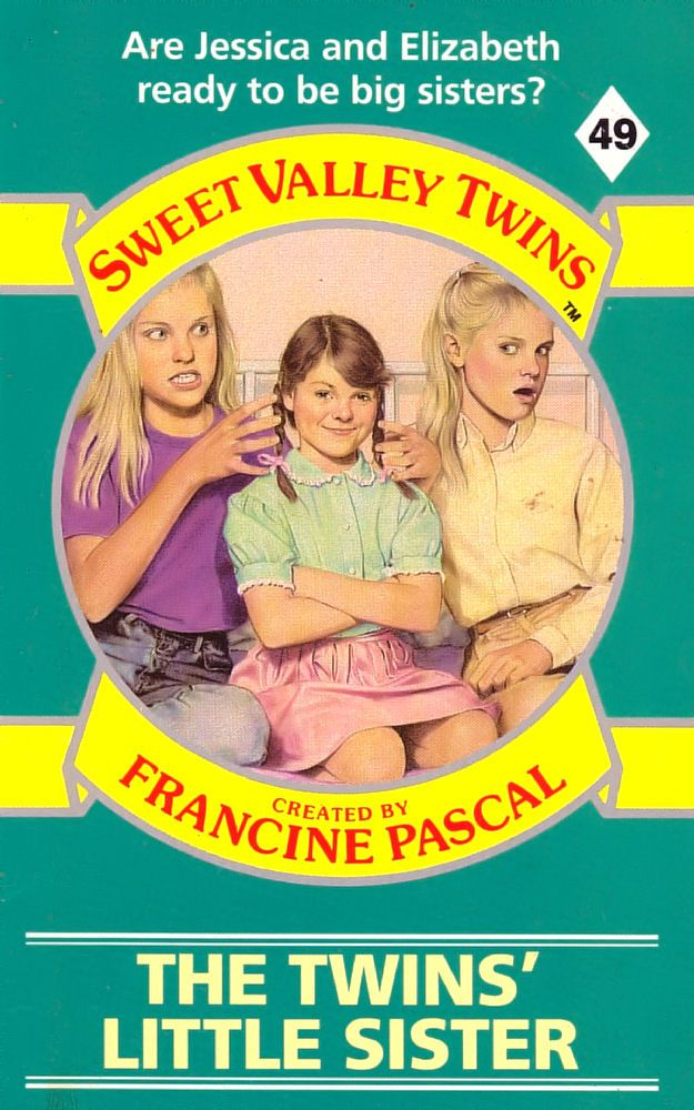 Sweet Valley Twins 49: The Twins' Little Sister - Wing on 21 May 2018