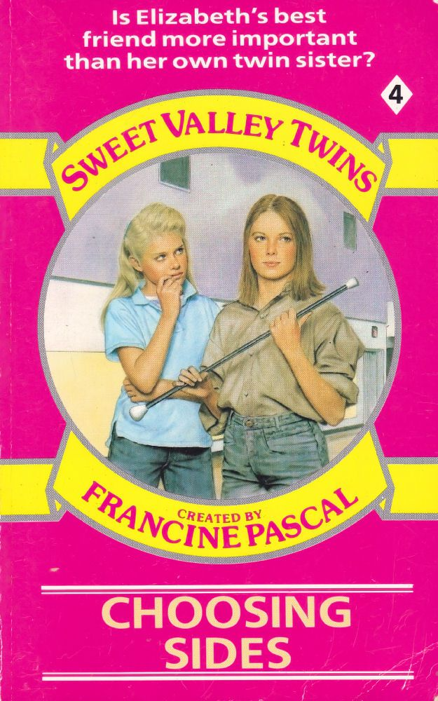 Sweet Valley Twins 4: Choosing Sides - Wing on 30 Jan 2017