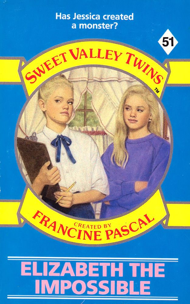 Sweet Valley Twins 51: Elizabeth the Impossible - Dove on 4 Jun 2018