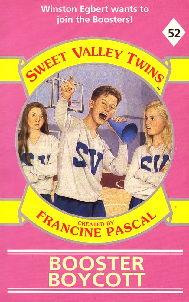 Sweet Valley Twins 52: Booster Boycott - Wing on 18 Jun 2018