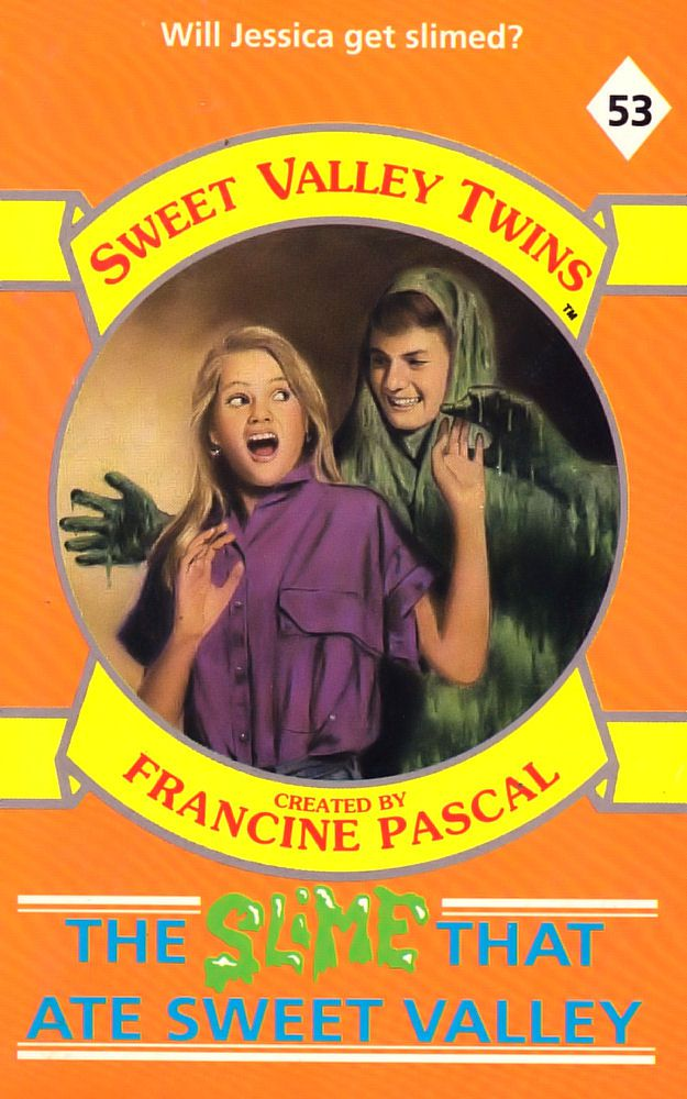 Sweet Valley Twins 53: The Slime That Ate Sweet Valley
