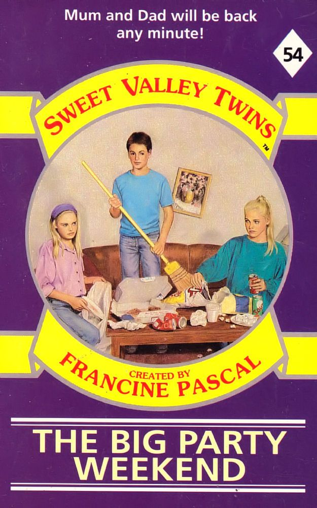 Sweet Valley Twins 54: The Big Party Weekend