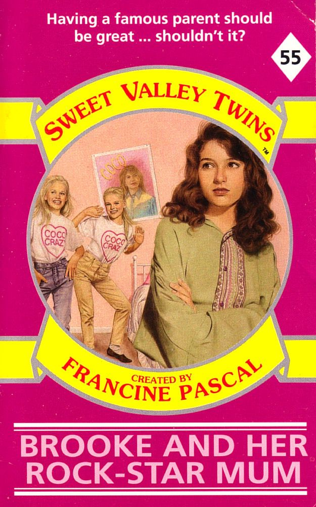 Sweet Valley Twins 55: Brooke and her Rock-Star Mom
