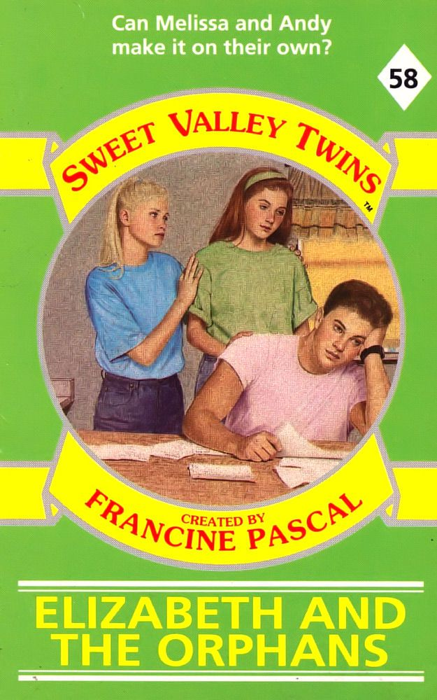 Sweet Valley Twins 58: Elizabeth and the Orphans - Dove on 20 Aug 2018
