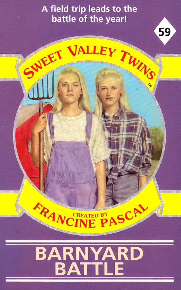 Sweet Valley Twins 59: Barnyard Battle