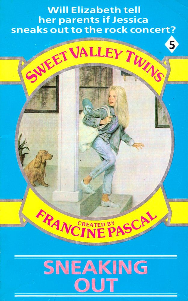 Sweet Valley Twins 5: Sneaking Out - Dove on 6 Feb 2017