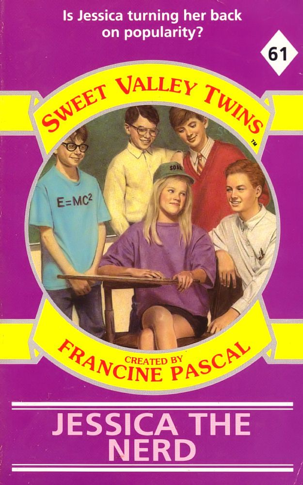 Sweet Valley Twins 61: Jessica the Nerd