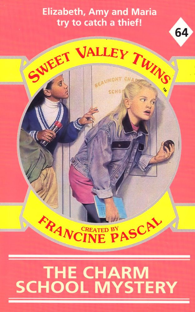 Sweet Valley Twins 64: The Charm School Mystery