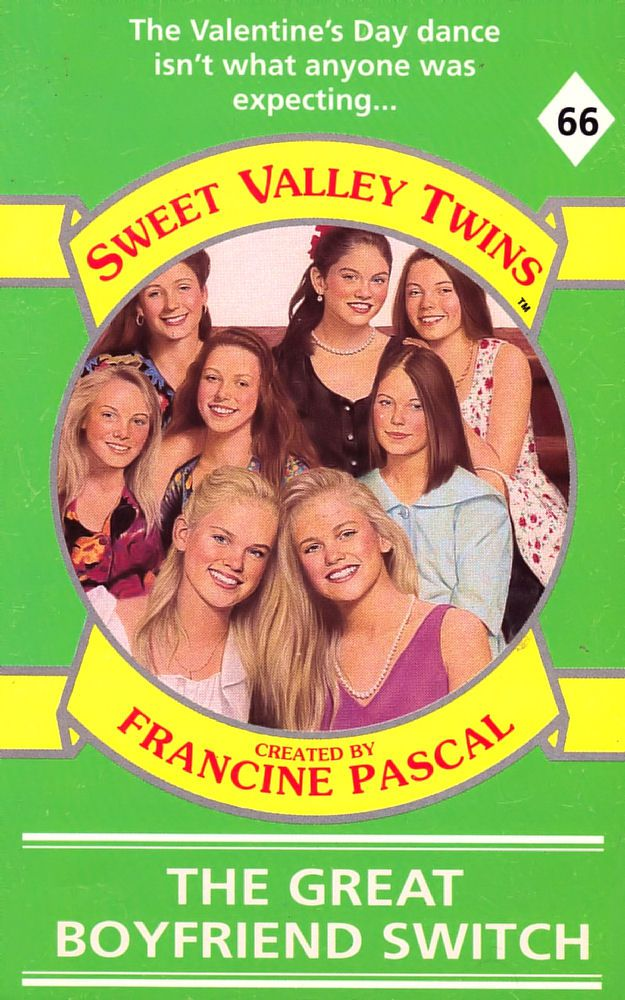 Sweet Valley Twins 66: The Great Boyfriend Switch