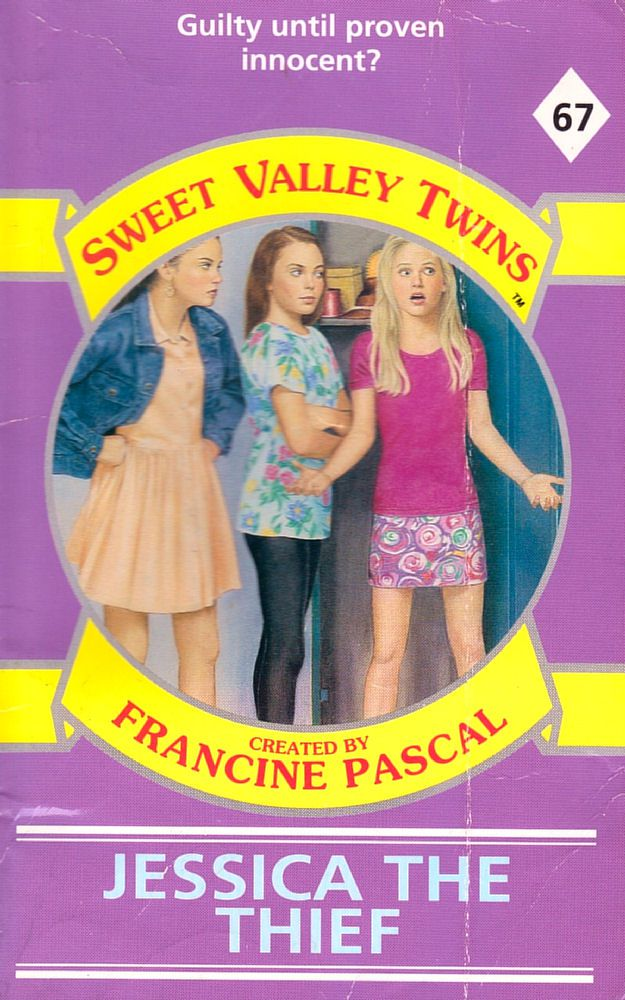Sweet Valley Twins 67: Jessica the Thief - Wing on 3 Dec 2018