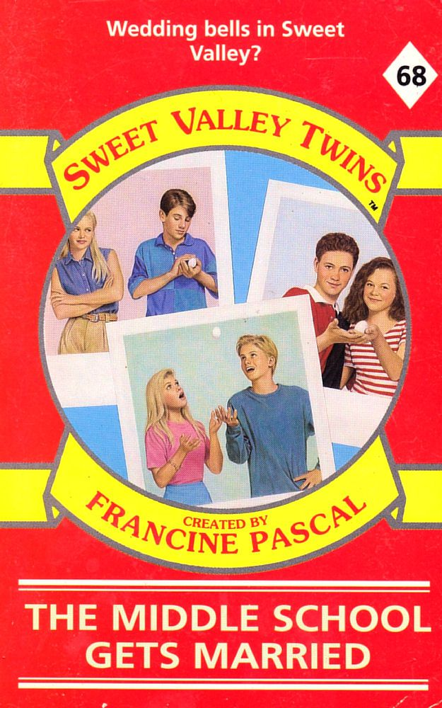 Sweet Valley Twins 68: The Middle School Gets Married