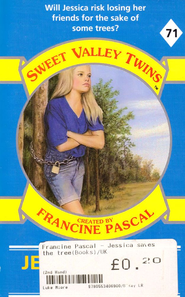 Sweet Valley Twins 71: Jessica Saves the Trees