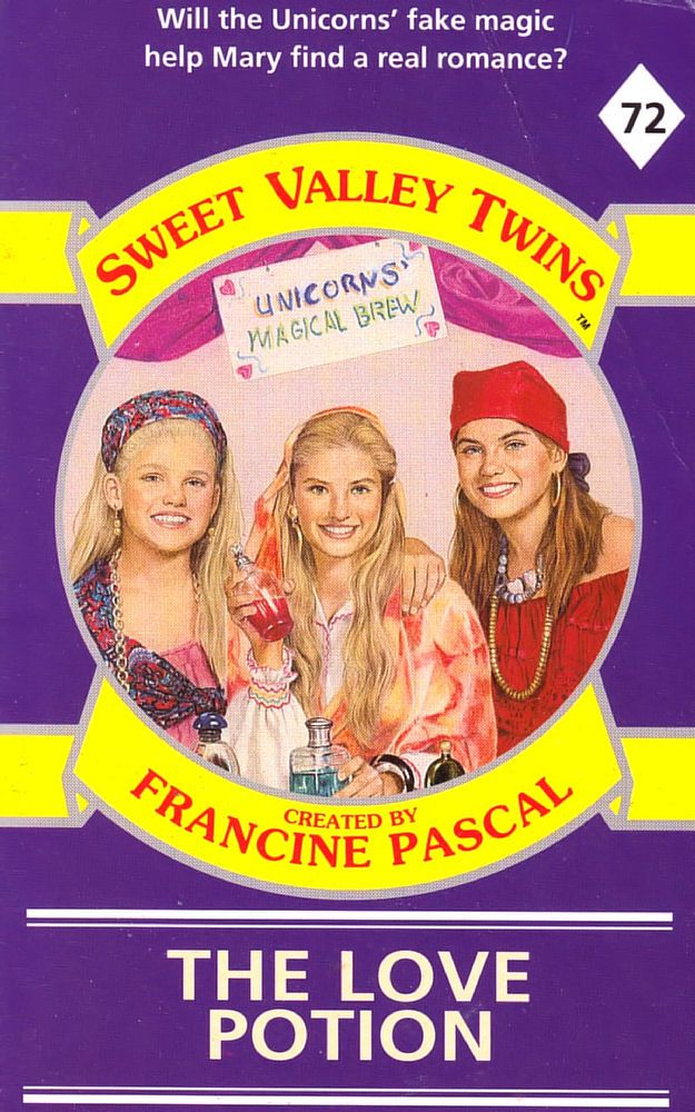 Sweet Valley Twins 72: The Love Potion