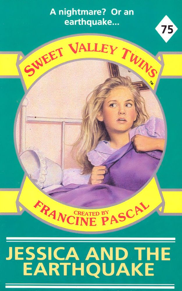 Sweet Valley Twins 75: Jessica and the Earthquake