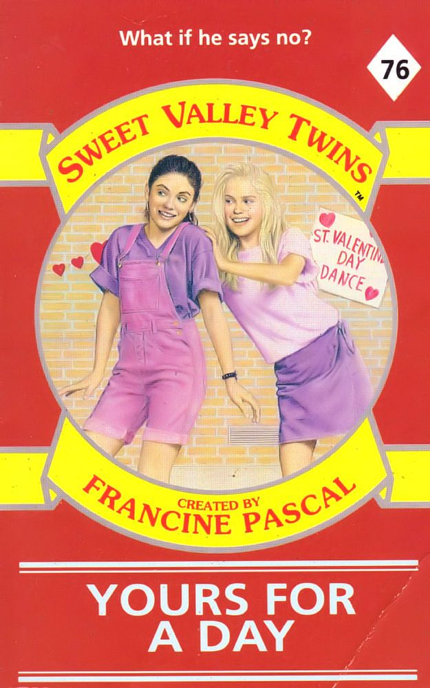 Sweet Valley Twins 76: Yours for a Day - Wing on 11 Mar 2019