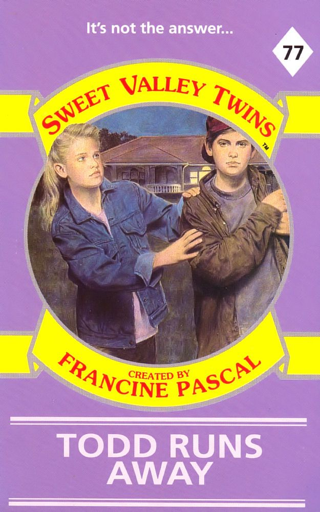 Sweet Valley Twins 77: Todd Runs Away