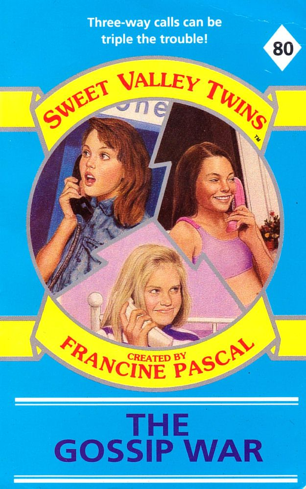Sweet Valley Twins 80: The Gossip War - Dove on 29 Apr 2019