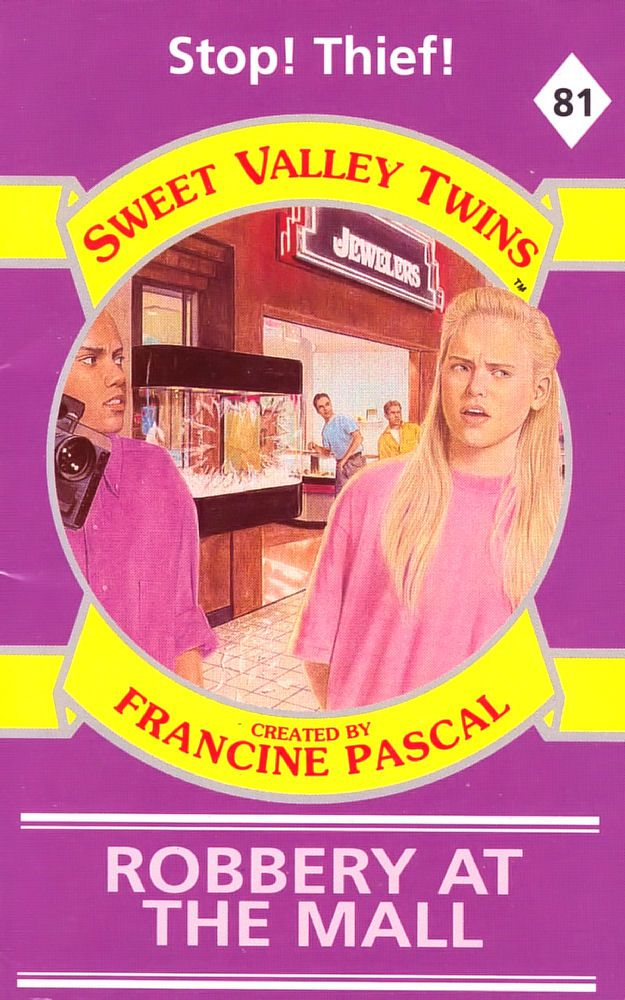 Sweet Valley Twins 81: Robbery at the Mall