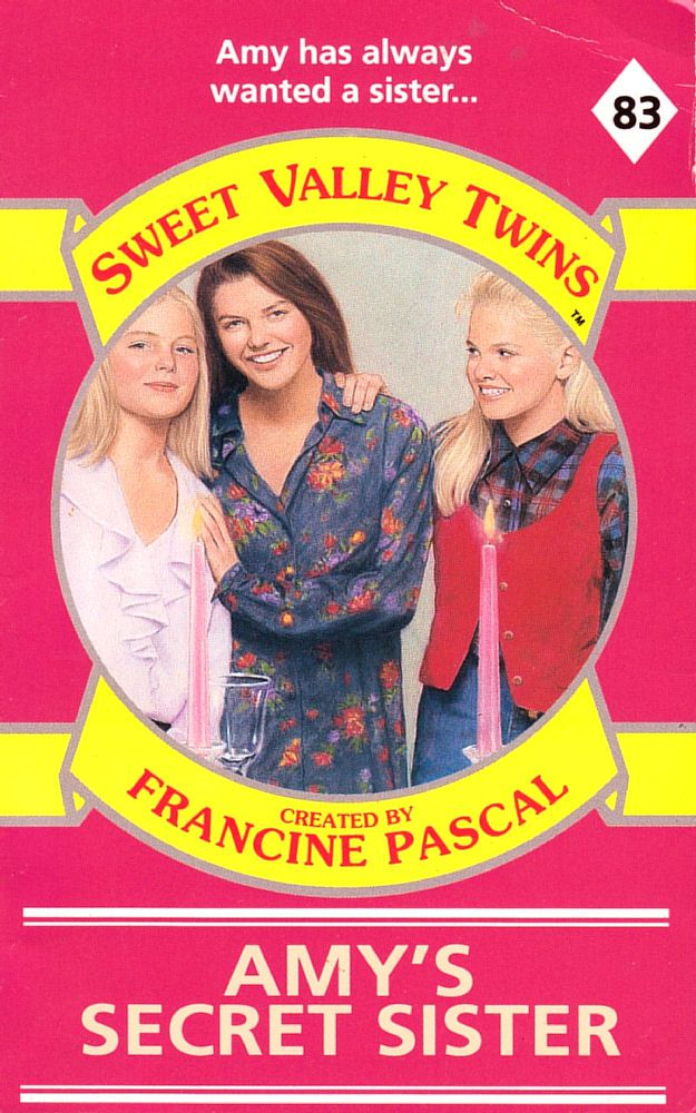 Sweet Valley Twins 83: Amy's Secret Sister