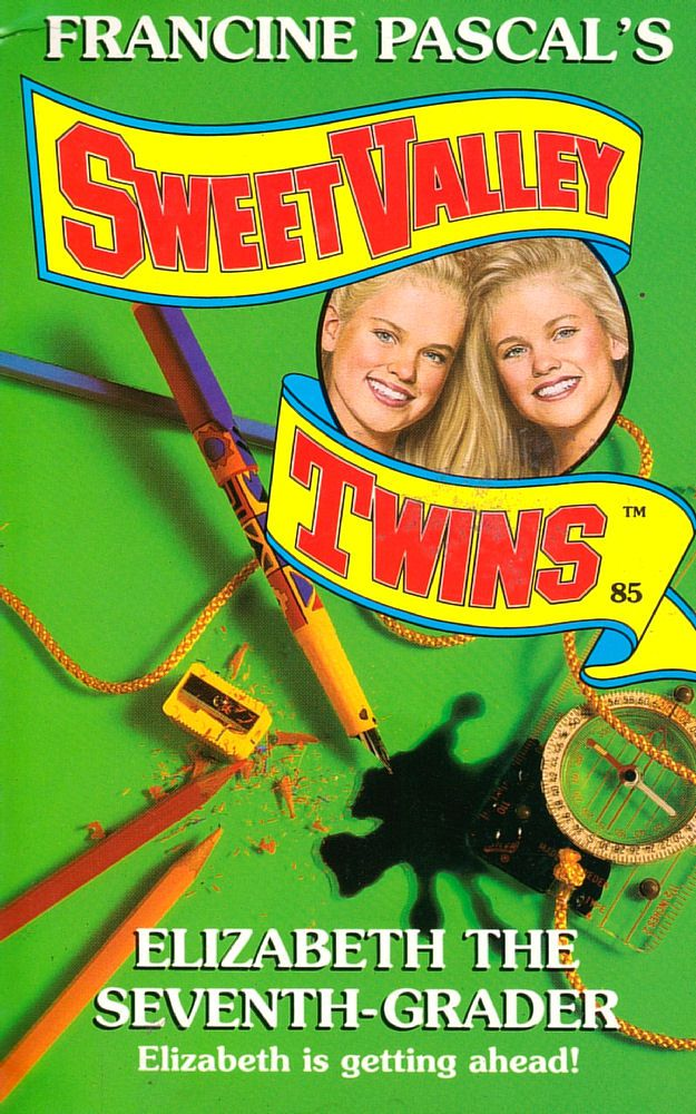 Sweet Valley Twins 85: Elizabeth the Seventh-Grader - Wing on 15 Jul 2019