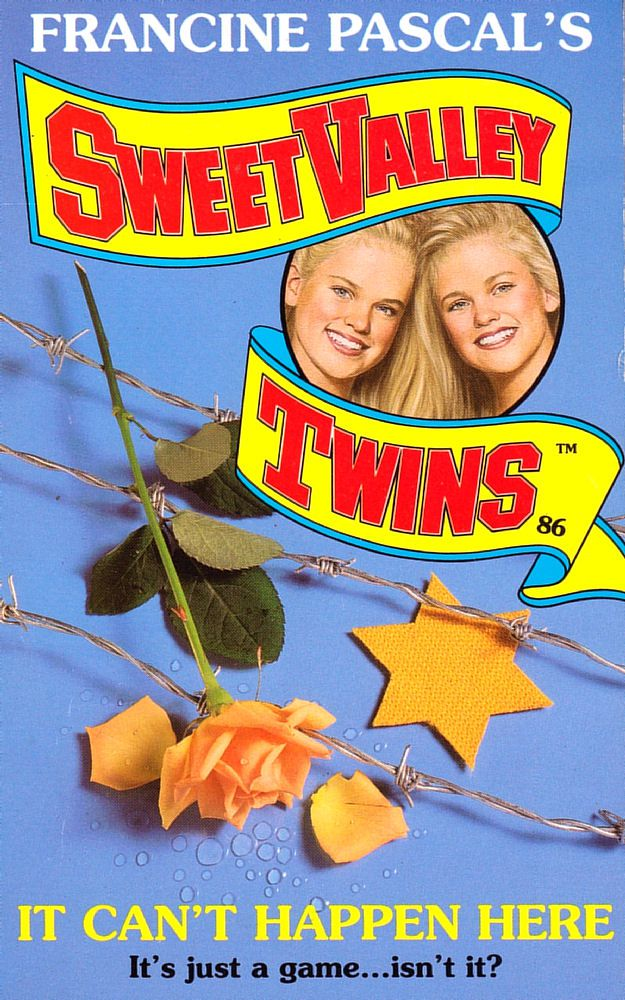 Sweet Valley Twins 86: It Can't Happen Here