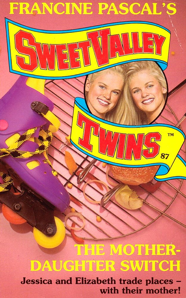 Sweet Valley Twins 87: The Mother-Daughter Switch