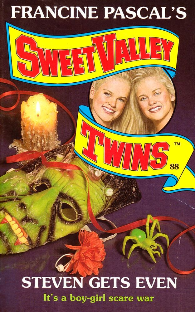 Sweet Valley Twins 88: Steven Gets Even - Dove on 19 Aug 2019