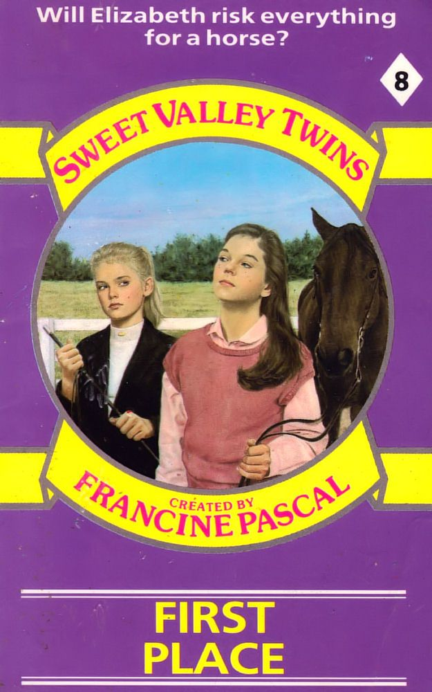 Sweet Valley Twins 8: First Place