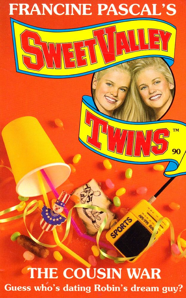 Sweet Valley Twins 90: The Cousin War
