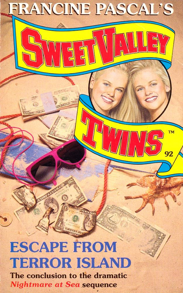 Sweet Valley Twins 92: Escape from Terror Island - Wing on 7 Oct 2019