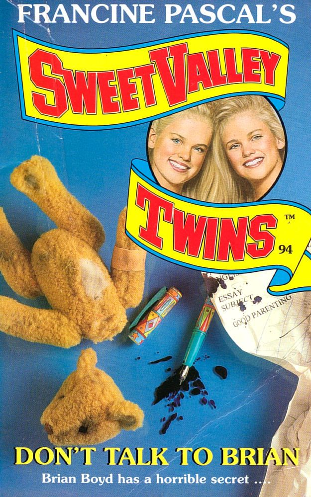 Sweet Valley Twins 94: Don't Talk to Brian