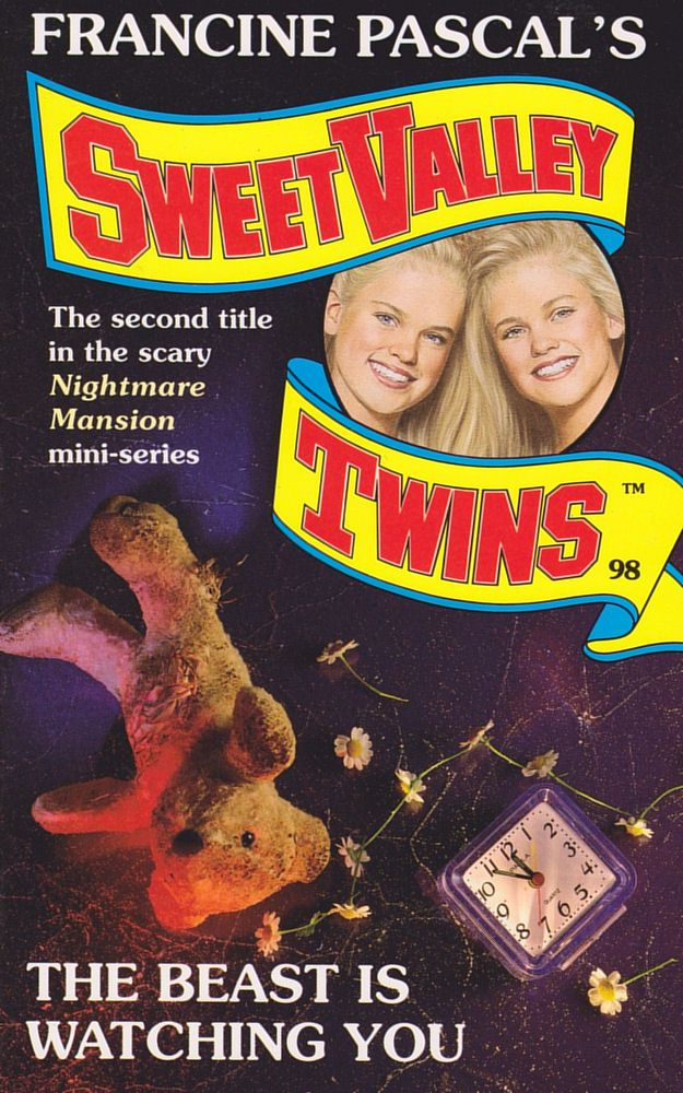 Sweet Valley Twins 98: The Beast Is Watching You