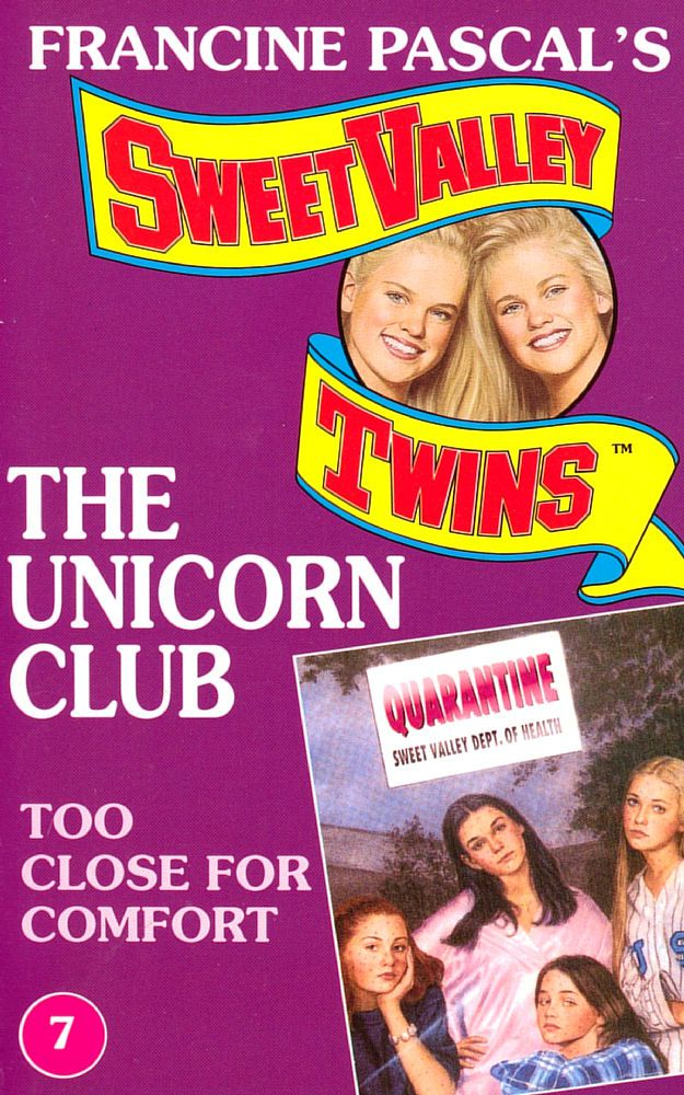The Unicorn Club 7: Too Close for Comfort - Raven on 16 Nov 2020